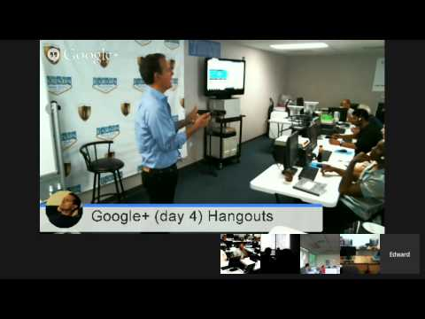 Larson Training Centers (Las Vegas) Google Apps / Google+ (day 4) Hangouts