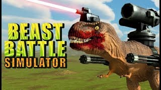 Beast Battle Simulator #1 : Khủng long đại chiến , game chiến thuật max hài