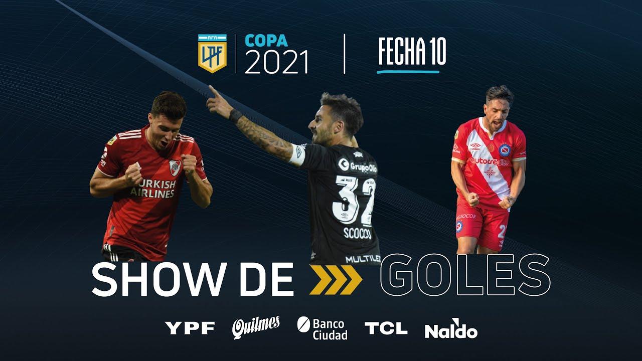 Copa de la Liga | Show de goles de la fecha 10