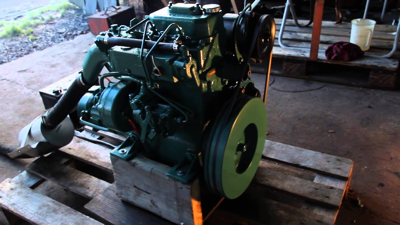 Volvo Penta Md7b Cold Start And Run Dreamfactory