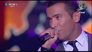 "Rui Drumond - ""When a man loves a woman"" - Final - The Voice Portugal"