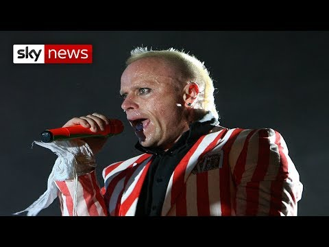 Tributes paid to The Prodigy frontman Keith Flint