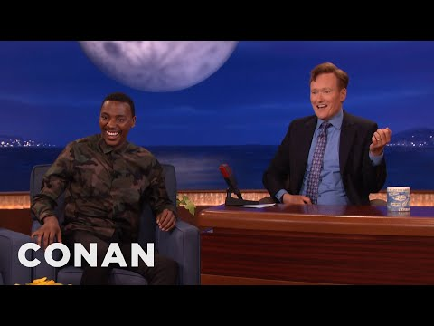 Jerrod Carmichael & Conan Remember Prince  - CONAN on TBS
