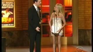 "Kristin Chenoweth ""Faints""! :)"