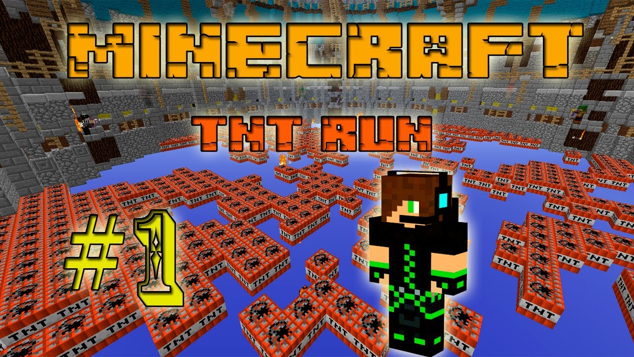 Сервера майнкрафт с мини игрой TNT Run, мониторинг ...