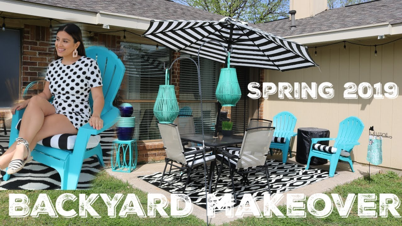 Spring 2019 Backyard Patio Makeover | Ivonne Stacy