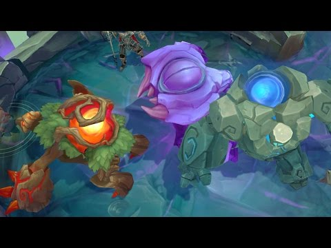 BLUE & RED BUFF IN BARON PIT!