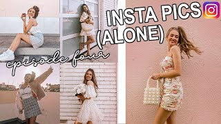 how i take instagram pictures by myself!! (ep 4)