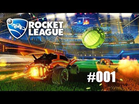 """Rocket League - 001  """"Einspielrunde(n)"""""""