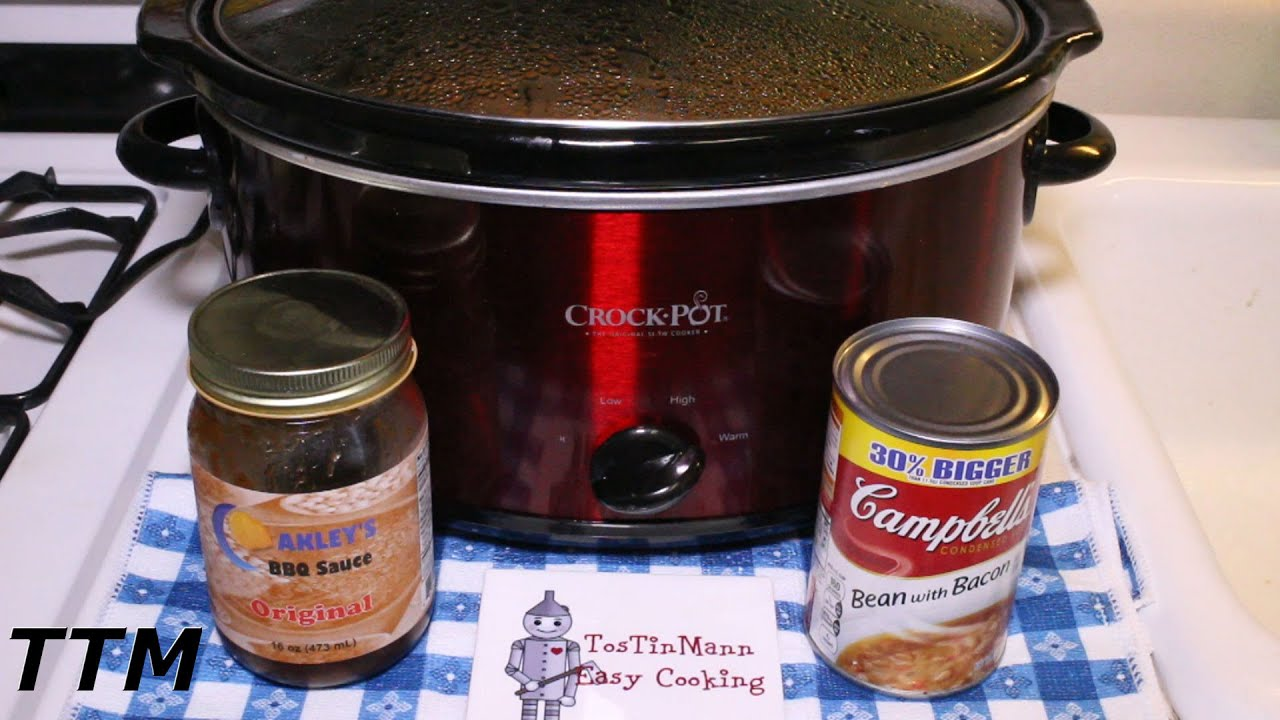 3 ingredient easy crockpot recipes