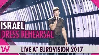 Israel Imri Ziv I Feel Alive Grand Final Dress Rehearsal Eurovision 2017