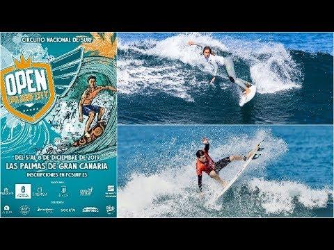 Las Canteras acoge el Open LPA Surf City 2019