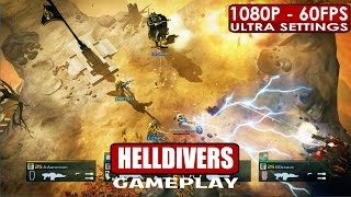HELLDIVERS gameplay PC HD [1080p/60fps]