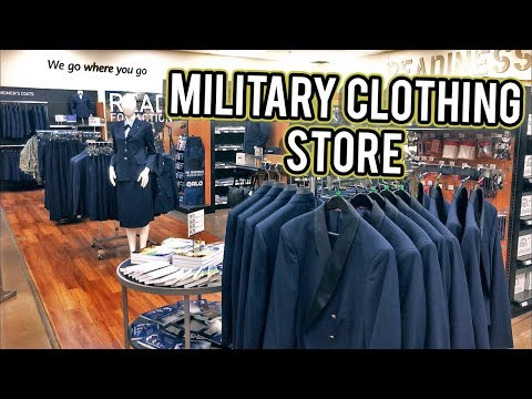 MILITARY CLOTHING STORE NELLIS AFB