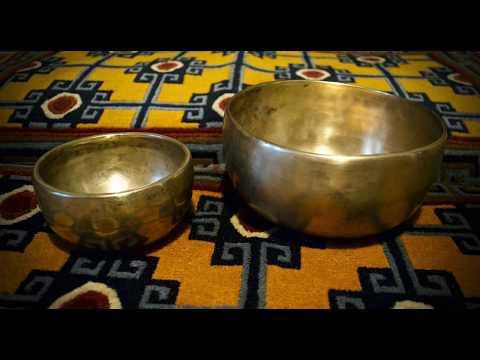Antique Thadobati Singing Bowls C & F