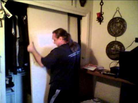 Closet Door Removal Youtube