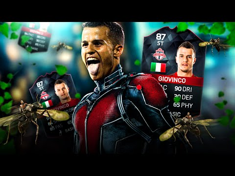 OMG TOTS STRIKER GIOVINCO THE ATOMIC ANT BEST ITALIAN INVINCIBLES SQUAD!  FIFA 16 ULTIMATE TEAM