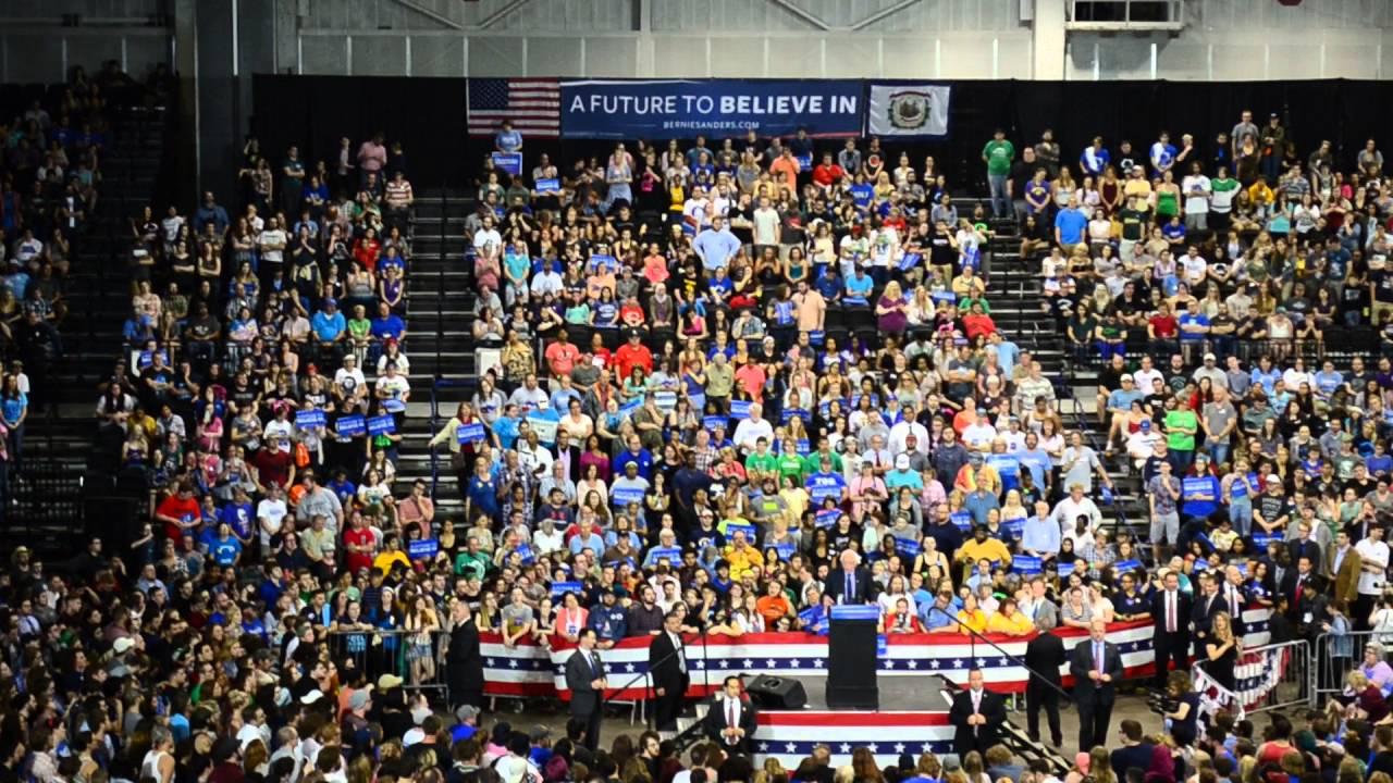Bernie Sanders At Big Sandy Superstore Arena Huntington Wv Part 4 4 26 2016
