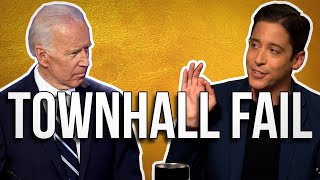 Biden's Epic Fail At Climate Townhall