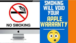 Smoking will void your Apple warranty   | Tech  | Tamil