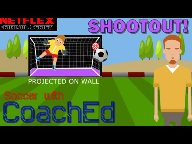 CoachEd: Soccer Stations- SHOOTOUT! Projector Game
