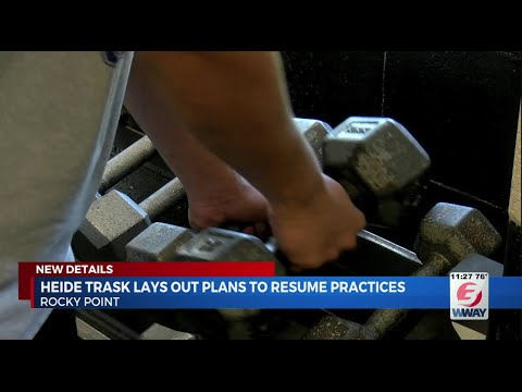 Heide Trask High School lays out plan for athletics to resume