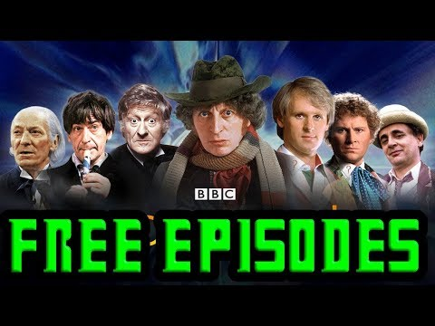 Where To Watch Free Episodes Of Classic Doctor Who
