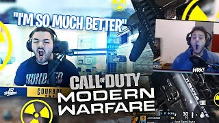 4 IDIOTS TRY TO GO FOR A NUKE?! MARCEL KEPT SCREAMING! AFTER DARK (Modern Warfare)