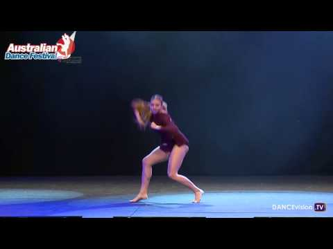 Holly Taylor, Dance Around The World Solo Competition
