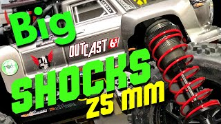 ARRMA OUTCAST - NOTORIOUS 25 MM SHOCKS