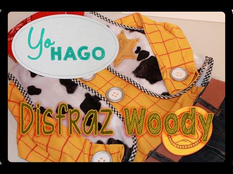 COMO HACER UN DISFRAZ DE WOODY - YouTube d835a421203