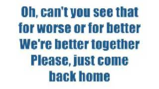 I Told You So - Keith Urban (Lyrics)