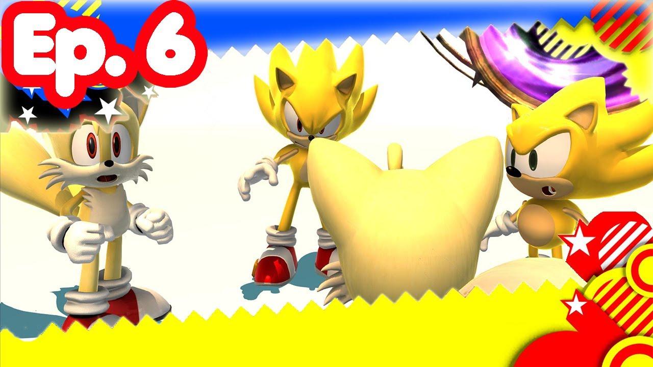 Super sonic generations ep 6 super sonic vs death egg - Super sonic 6 ...