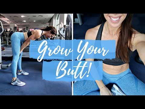 GROW & DEFINE YOUR BOOTY AND LEGS | FULL WORKOUT & DAY OF EATING!