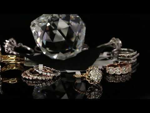 18k Solid Gold Diamond Rings Bands At Royal Dubai Jewellers Mississauga Canada