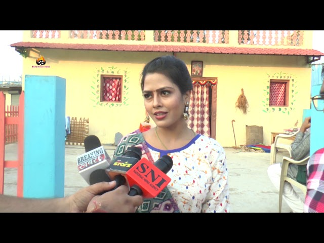 Bhojpuri film on Location At Gujrat