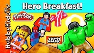 Who wants Waffles? Play-Doh BREAKFAST by HobbyKidsTV