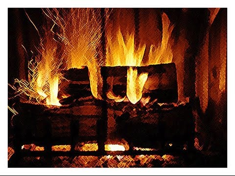 Warm up by the fire ! - Fireplace loop - YouTube