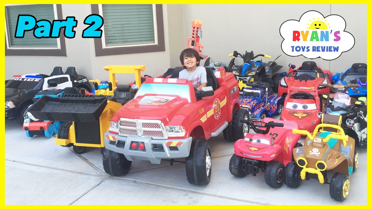 db8b72630 HUGE POWER WHEELS COLLECTIONS Ride On Cars for Kids - YouTube
