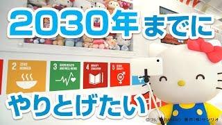 SDGsって知ってる?【ハローキティSDGs応援 Vol.1】