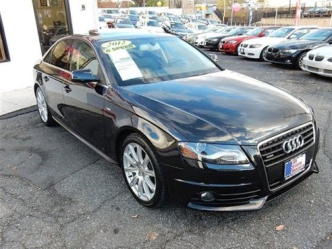 2012 audi a4 2 0t quattro 6 speed sedan perth amboy nj 08861 youtube. Black Bedroom Furniture Sets. Home Design Ideas