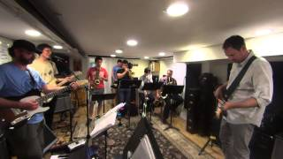 Beggars Waltz Rehearsal - The Night They Drove Old Dixie (w/ Horns)