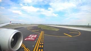NH9 ANA NY便 JFK空港離陸 RWY31L (2016.9.10)