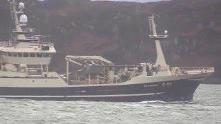 Trawler VERONICA IMO 9202455 arrives Stornoway 2016 01 01