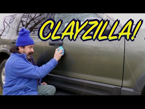 ClayZilla Review - New Paint Cleaning Clay Product from Surf City Garage