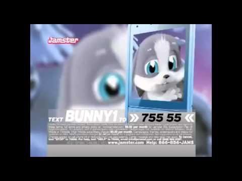 Schnuffel Christmas song Schnuffel Bunny knocks on phone screen