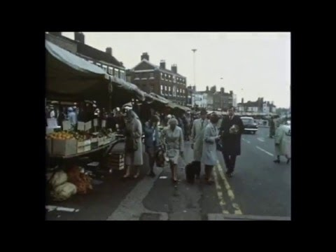 Newcasyle Under Lyme Market 1967