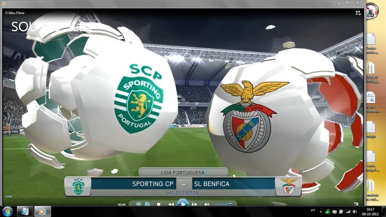Benfica Jogo: JOGO PC FIFA14 # SPORTING VS BENFICA # ATRICK DE CARDOZO