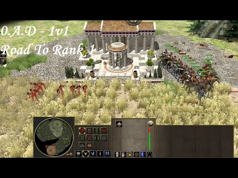 0.A.D - Alpha 21 - Online Multiplayer - Road To Rank 1