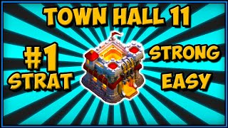 #1 TOWN HALL 11 WAR ATTACK STRATEGY 2019 | CLASH OF CLANS